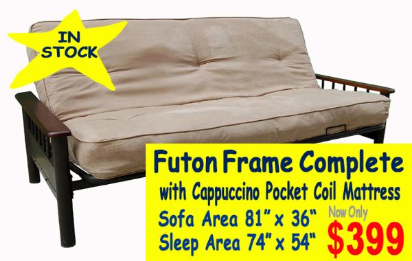 Restful Sleepin Futon Frames North Tonawanda Buffalo New York Area
